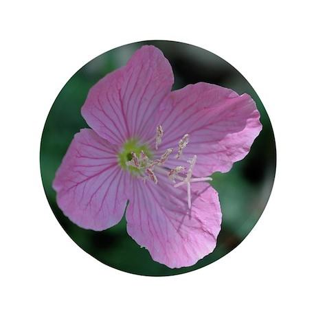 "Pink Mallow 3.5"" Button"