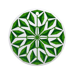 Eclectic Flower 261 Ornament (Round)