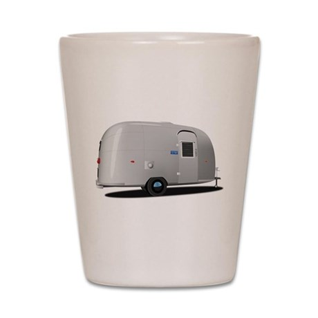 Vintage Airstream Store Shot Glass