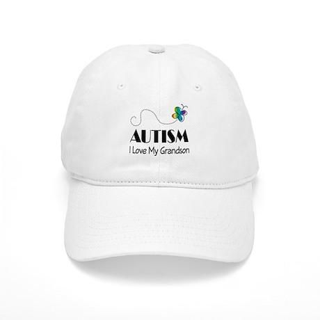 Autism I Love My Grandson Cap