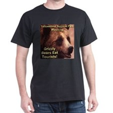Grizzly Bears Eat Tourists T-Shirt