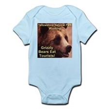 Grizzly Bears Eat Tourists Infant Bodysuit