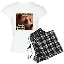 Grizzly Bears Eat Tourists Pajamas