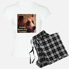 Grizzly Bears Eat Tourists Pajamas