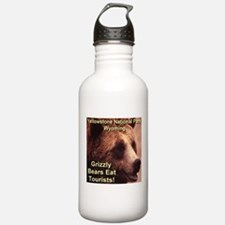 Grizzly Bears Eat Tourists Water Bottle