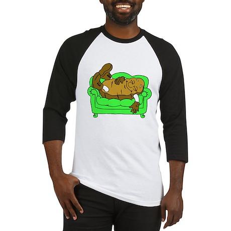 A Real Couch Potato Baseball Jersey