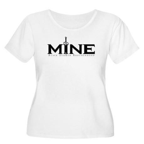 Mine Women's Plus Size Scoop Neck T-Shirt