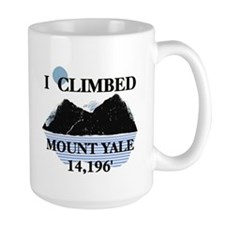I Climbed Mount Yale Mug