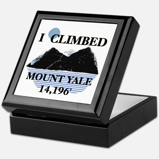I Climbed Mount Yale Keepsake Box