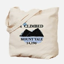 I Climbed Mount Yale Tote Bag