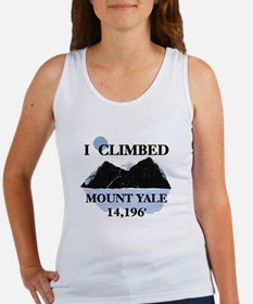 I Climbed Mount Yale Women's Tank Top