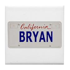 California Bryan Tile Coaster