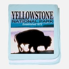Yellowstone National Park Est baby blanket