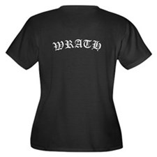 BDB Logo Plus Size V-Neck T-Shirt - Wrath