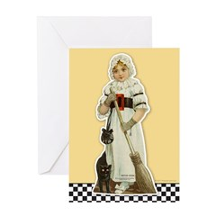 MOTHER GOOSE PAPER DOLL Greeting Card