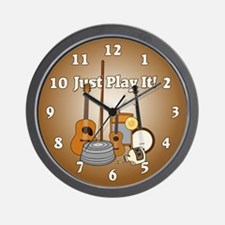 Just Play It! Wall Clock