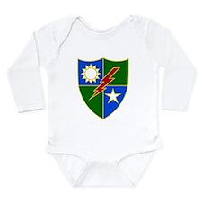 Rangers Long Sleeve Infant Bodysuit