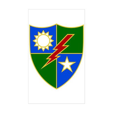 Rangers Sticker (Rectangle 50 pk)