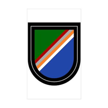 Rangers Sticker (Rectangle 10 pk)