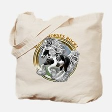 Gypsy Horses Rock Tote Bag