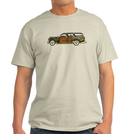 Classic Woody Station Wagon Light T-Shirt