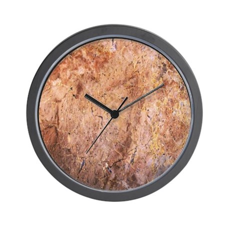 M298-RUSTY MARBLE Wall Clock