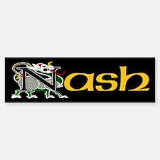 Nash Celtic Dragon Bumper Bumper Bumper Sticker