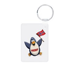 Norway Penguin Keychains