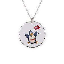 Norway Penguin Necklace