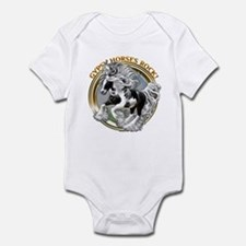 Gypsy Horses Rock Infant Bodysuit