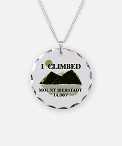 I Climbed Mount Bierstadt Necklace