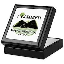 I Climbed Mount Bierstadt Keepsake Box