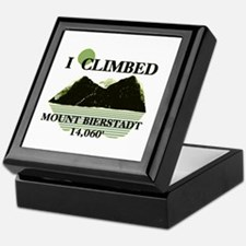 I Climbed Mount Bierstadt Keepsake Box