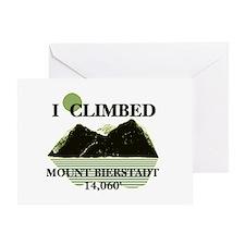 I Climbed Mount Bierstadt Greeting Card
