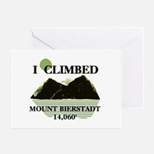 I Climbed Mount Bierstadt Greeting Card