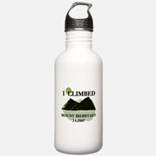I Climbed Mount Bierstadt Water Bottle