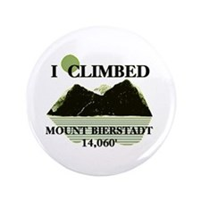 "I Climbed Mount Bierstadt 3.5"" Button"