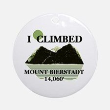 I Climbed Mount Bierstadt Ornament (Round)