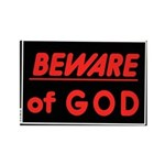 Atheist humor Rectangle Magnet (100 pack)