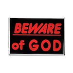 Atheist humor Rectangle Magnet