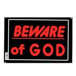 Atheist humor Postcards (Package of 8)