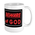 Atheist humor Large Mug
