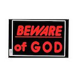 Atheist humor 38.5 x 24.5 Wall Peel