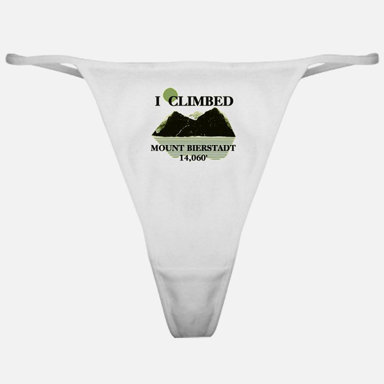 I Climbed Mount Bierstadt Classic Thong