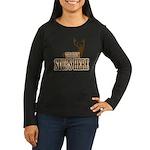 THE BUCK Women's Long Sleeve Dark T-Shirt