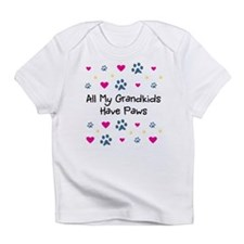 All My Grandkids Have Paws Infant T-Shirt