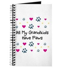 All My Grandkids Have Paws Journal