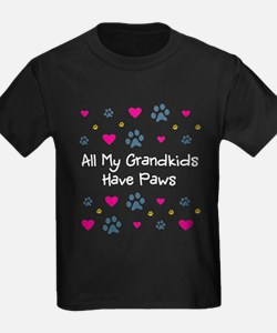 All My Grandkids Have Paws T
