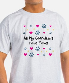 All My Grandkids Have Paws T-Shirt
