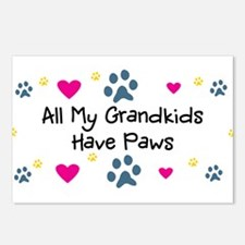 All My Grandkids Have Paws Postcards (Pack of 8)